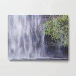 Veil of Water Metal Print
