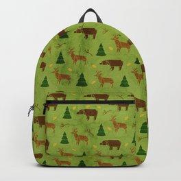 Woodland Origami Backpack