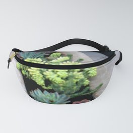 Linear Succulence Fanny Pack