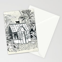 TROPICAL GREENHOUSE Stationery Cards