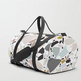 Terrazzo Pattern II. Duffle Bag