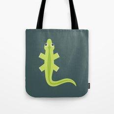 Letter L // Animal Alphabet // Lizard Tote Bag