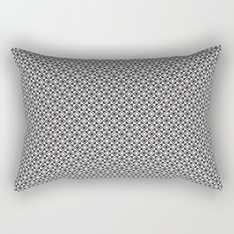 Checkered Shapes Pattern I Rectangular Pillow