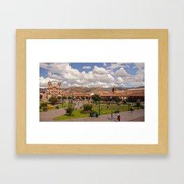 Cusco Framed Art Print