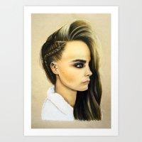 Cara Art Print