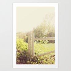 Home, At Sunset Art Print