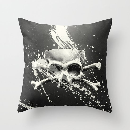 Hidden Lie Throw Pillow