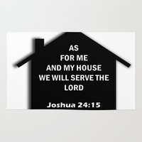 bible Area & Throw Rugs featuring Bible verse by cmphotography