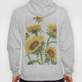 Blooming Sunflowers Hoody
