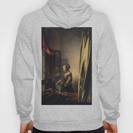 Johannes Vermeer - Girl reading a letter by an open window Hoody