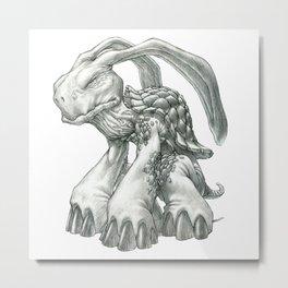 The Malaysian Rabbit-Eared Tortoise Metal Print