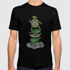 Yertle The Turtle Black 2X-LARGE Mens Fitted Tee