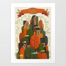 An Fhomhair (Autumn) Art Print