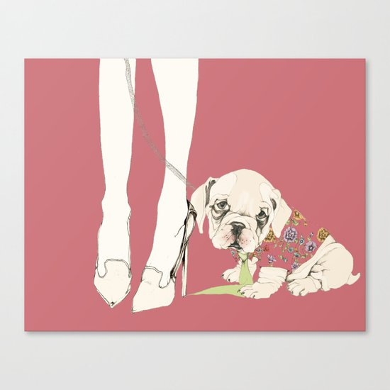 he would never do it, 2 Canvas Print