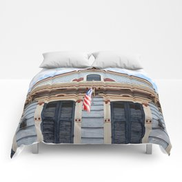 New Orleans American Creole Cottage Comforters