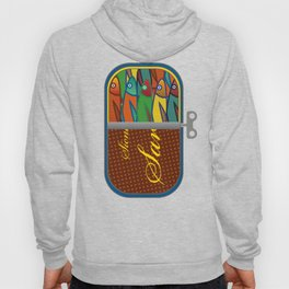 Pop art: Sardines Hoody