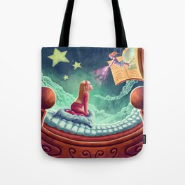 Fairy book Tote Bag