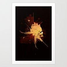 Pain Pleasure Art Print