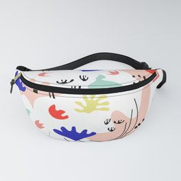 Colorful Land - Shapes Pattern Fanny Pack