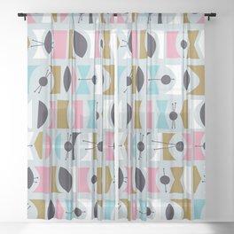 Tromen - Blue Sheer Curtain