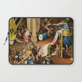 The Garden of Earthly Delights - Bosch - Hell Bird Man Detail Laptop Sleeve
