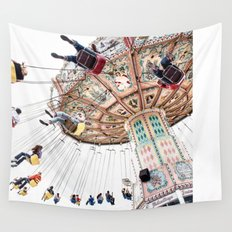 Wild Ride Wall Tapestry