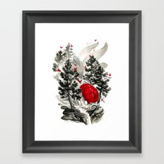 Oranda Framed Art Print