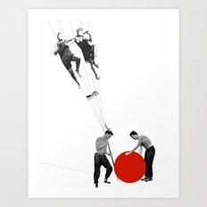US AND THEM >dedicated to László Moholy-Nagy / 038 Art Print