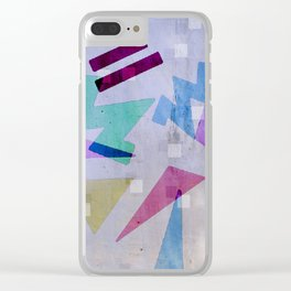 Legespiel Clear iPhone Case