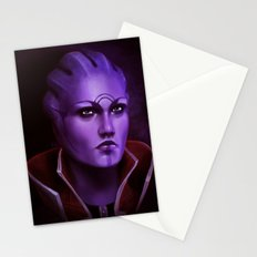 Mass Effect: Aria T'Loak Stationery Cards