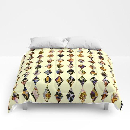 luminous diamond shaped garland Comforters
