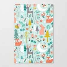 Forest Of Dreamers Canvas Print