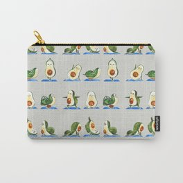 Avocado Yoga Watercolor Carry-All Pouch