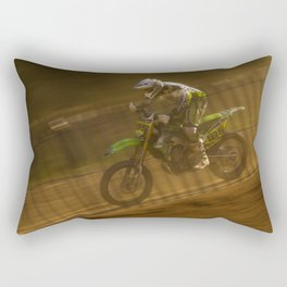 Motocross Rectangular Pillow