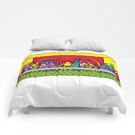 Happy Supper Comforters