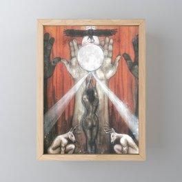The Empress - Tarot Card Art Framed Mini Art Print