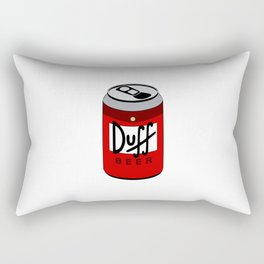 Duff Beer Can Rectangular Pillow