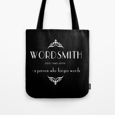 WORDSMITH Tote Bag