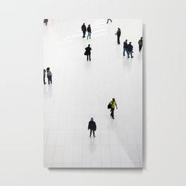 NYC Commuters Metal Print