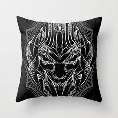 Pinstripe Megatron Throw Pillow