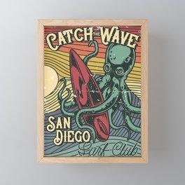 Catch the Wave Framed Mini Art Print