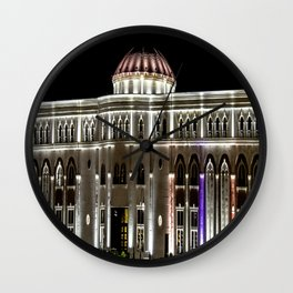 Architecture Skopje Wall Clock