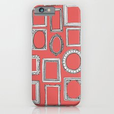 picture frames coral Slim Case iPhone 6s