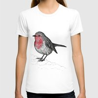 robin T-shirts featuring Robin by Jack Kershaw