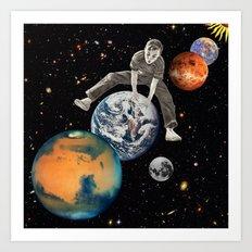 Star Hopper Art Print
