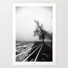 Transitions #7 Art Print