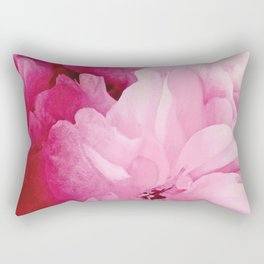 Plum Blossoms-Flowering For No One, No Reason Rectangular Pillow