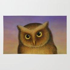 Mountain Scops Owl Rug