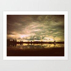 You in a Landscape Art Print