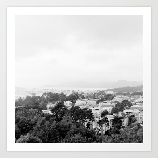 San Francisco Cityscape No. 2 Art Print